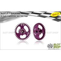 Slot.it GA1836E 36 Tooth Anglewinder Spur Gear (18mm)