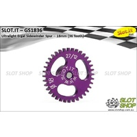 Slot.it GS1836 36 Tooth Sidewinder Spur Gear (18mm)