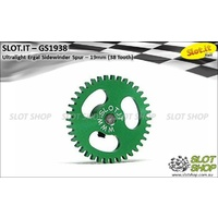 Slot.it GS1938 38 Tooth Sidewinder Spur Gear (19mm)