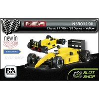 NSR 0119IL Classic F1 1986-'89 Series - Yellow Test Car