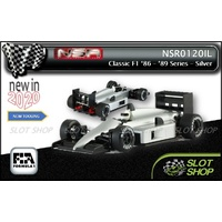 NSR 0120IL Classic F1 1986-'89 Series - Silver Test Car