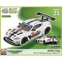 NSR 0170aw ASV GT3 Martini Racing - White #70
