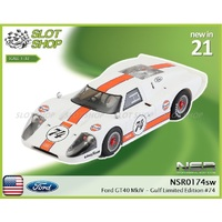 NSR 0174sw Ford GT40 MkIV - Gulf Limited Edition #74
