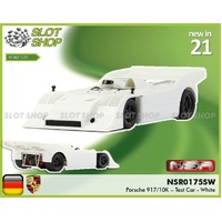 NSR 0175sw Porsche 917/10K - Test Car White