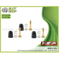 NSR 1209 Suspension Kit for Rectangular Motor Mount (Soft)