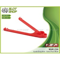 NSR 1234 Drop Arm (Red - Extra Hard)