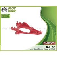 NSR 1254 Inline Motor Mount Extra Hard (Red)