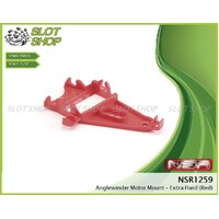 NSR 1259 Anglewinder Motor Mount Extra Hard (Red)