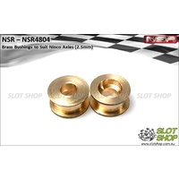 NSR 4804 Brass Bushings for Ninco Axles (2.5mm)