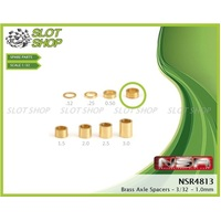 NSR 4813 Axle Spacers for 3/32 Axles (1.00mm)