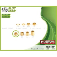 NSR 4814 Axle Spacers for 3/32 Axles (1.50mm)