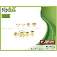 NSR 4815 Axle Spacers for 3/32 Axles (2.00mm)