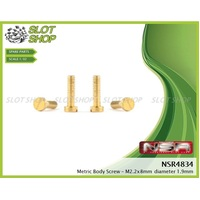 NSR 4834 Body Screws - Medium (2.2 x 8.0mm)