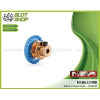 NSR 6324BR Inline Crown Gear (24 Tooth)