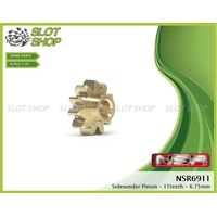 NSR 6911 Brass Sidewinder Pinions (11 Tooth)
