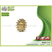 NSR 7114 Brass Anglewinder Pinions (14 Tooth)
