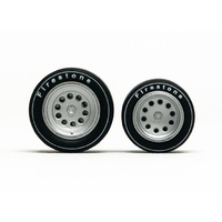 Slot.it PA41 Wheel Inserts (Alfa Romeo 33/3)