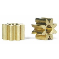 Slot.it PI08 8 Tooth Inline Brass Pinion (5.5mm)