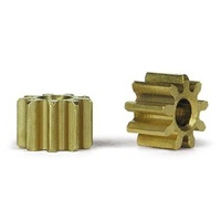 Slot.it PI09 9 Tooth Inline Brass Pinion (5.5mm)