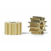 Slot.it PI11 11 Tooth Inline Brass Pinion (5.5mm)