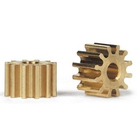 Slot.it PI6712o 12 Tooth Anglewinder Brass Pinion (6.75mm)