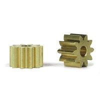 Slot.it PS10 10 Tooth Sidewinder Brass Pinion (6.5mm)
