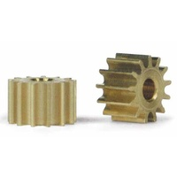 Slot.it PS13 13 Tooth Sidewinder Brass Pinion (6.5mm)