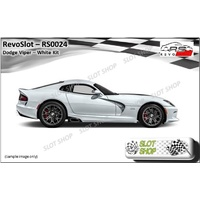 Revo Slot RS0024 Dodge Viper White Kit