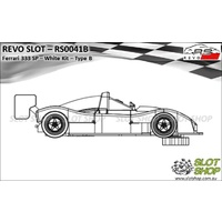 Revo Slot RS0041B Ferrari 333 SP - White Kit (Type B)