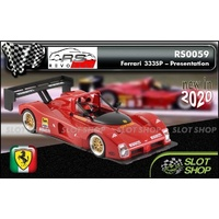 Revo Slot RS0059 Ferrari 333SP Red