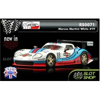 Revo Slot RS0071 Marcos Martini White #88