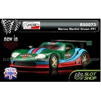 Revo Slot RS0073 Marcos Martini Green #91