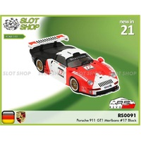 Revo Slot RS0091 Porsche 911 GT1 Marlboro (Black Edition) #17