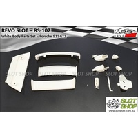 Revo Slot RS-102 White Parts Set - Porsche 911 GT2