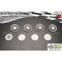 Revo Slot RS-107 Wheel Inserts - Porsche 911 GT2