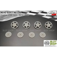 Revo Slot RS-116 Wheel Inserts - Marcos LM600