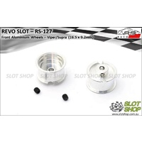 Revo Slot RS-127 Aluminium Front Wheels (16.5 x 9.2mm)