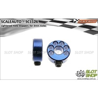 Scaleauto SC1126 Lightened Axle Stoppers for 3mm Axles