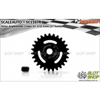 Scaleauto SC1167R Nylon Anglewinder Crown (27 Tooth)
