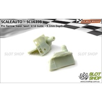 Scaleauto SC1639B Pro Narrow Super Sport 3/16 Guide