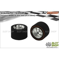 Scaleauto SC2414P ProComp-3 Wheels for 3mm Axles (25.5 x 16mm)