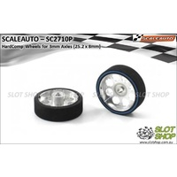 Scaleauto SC2710P HardComp Wheels for 3mm Axles (25.2 x 8mm)