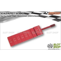 Scaleauto SC5043 Tool for Chassis Height Measurement