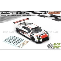 Scaleauto SC6180A Audi R8 LMS GT3 (White/Red)