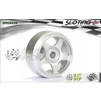 Sloting Plus SP024216 America Wheels (15.9 x 8.5mm)
