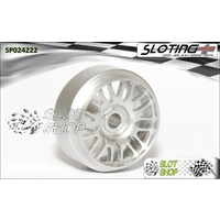 Sloting Plus SP024222 BBS Wheels (15.9 x 8.5mm)