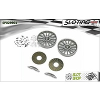 Sloting Plus SP029901 Le Mans Wheel Inserts