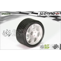 Sloting Plus SP031570 Zero Grip Front Tyres (17.5 x 8.5mm)
