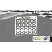 Sloting Plus SP069102 Spacers for 1/24 Guide (0.20mm)