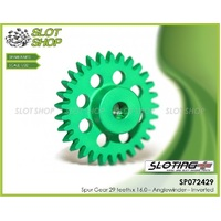 Sloting Plus SP072429 Anglewinder Spur Gear 29 teeth x 16.0 – Inverted